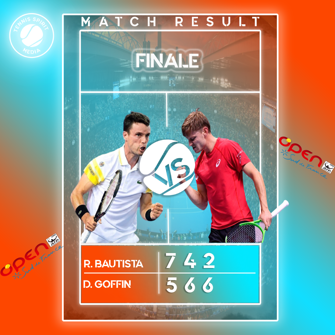 Match-Result-Tournois-Open-Sud-France-Montpellier-2021-David-Goffin-Bautista-RobertoTennis-Spirit-Media-Actu-Info-Direct-Live-Score