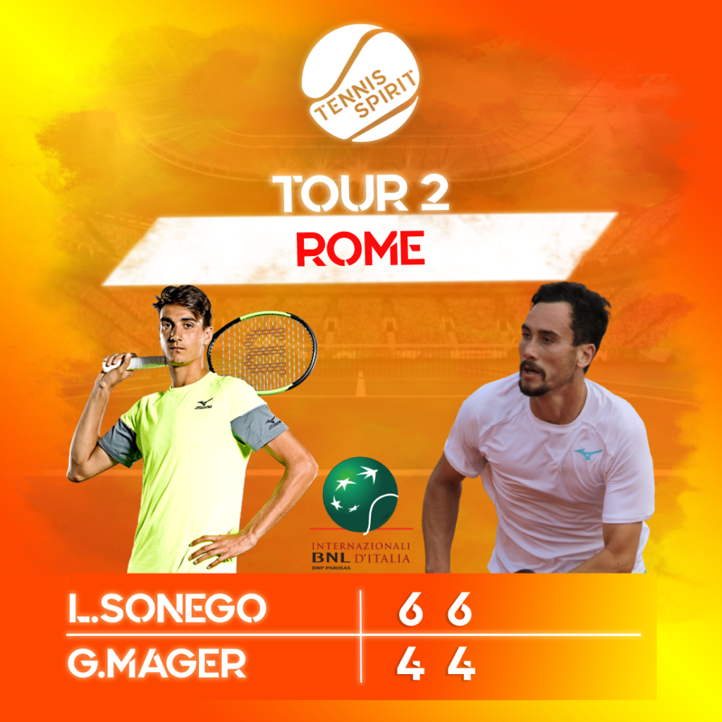 Post-Résultat-Tennis-Match-Sonego-Mager-Premier-Tour-Rome-2021-Tennis-Spirit-Media-Actu-Info-Direct-Live-Score