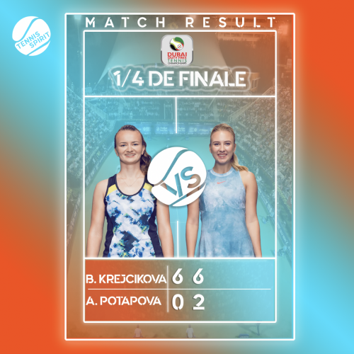 Krejcikova vs Potapova