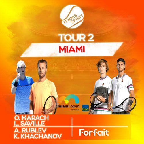 Résultat-Tennis-Match-Marach-Saville-Rublev-Khachanov-Tour 2-Masters 1000-Miami-2021-Tennis-Spirit-Media-Actu-Info-Direct-Live-Score